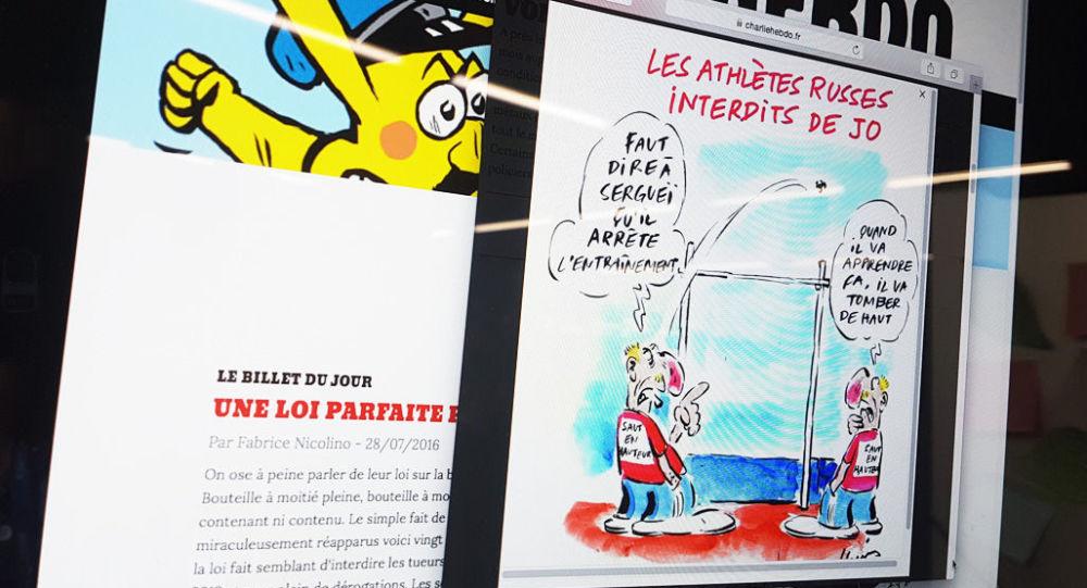 Sito di Charlie Hebdo