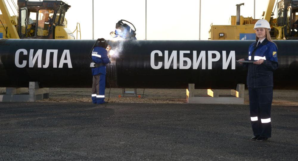 Il gasdotto Forze della Siberia.