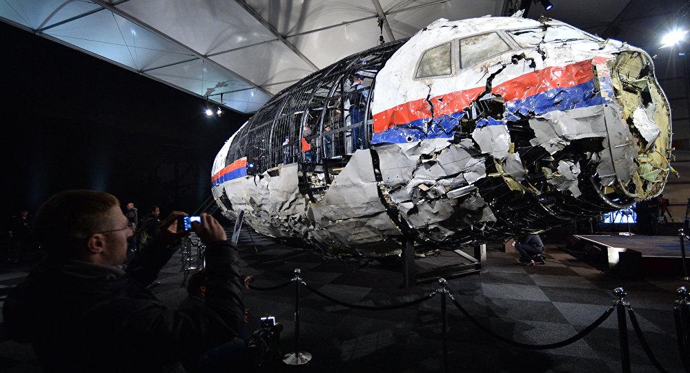 Macerie del volo MH17
