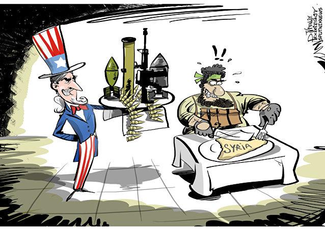 Gli USA vendono armamenti a Al-Nusra