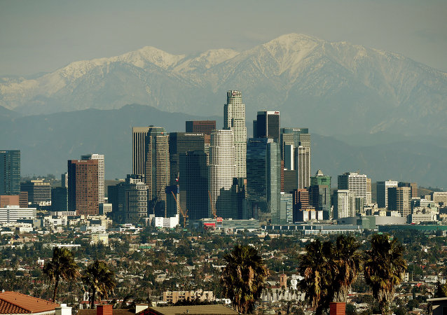 Panorama di Los Angeles, USA.