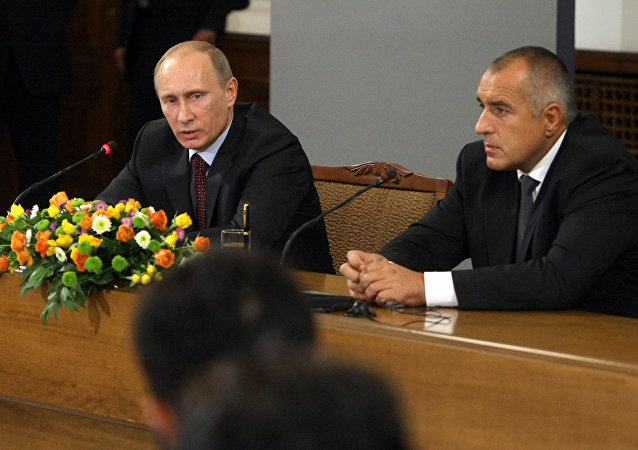 Vladimir Putin e Boyko Borissov