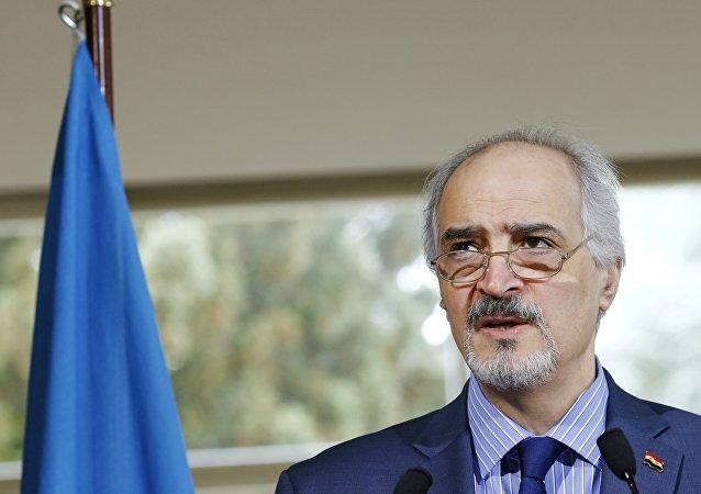 Rappresentante permanente della Siria all'ONU Bashar Jaafari