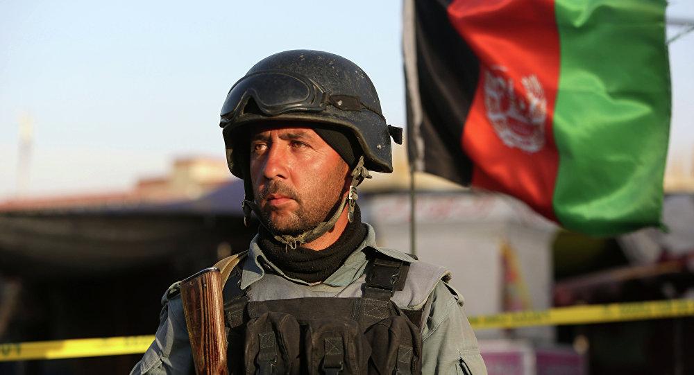 La bandiera afghana