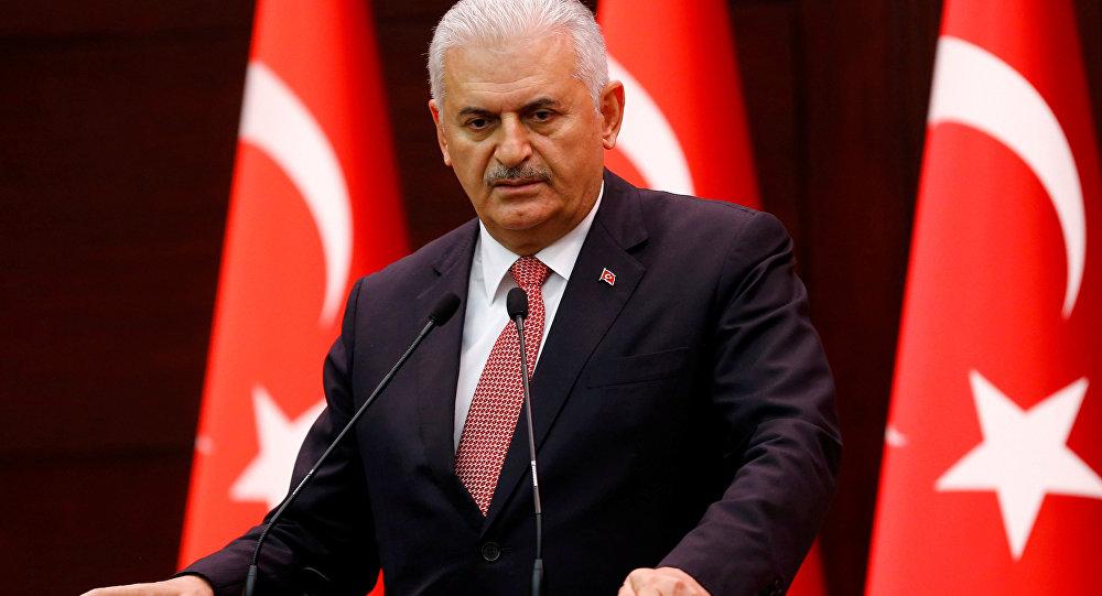 Premier turco Binali Yıldırım