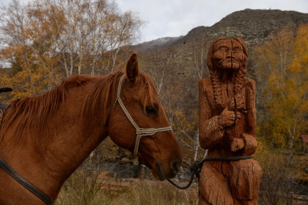 Venite a provare il Kok Boru, il rugby delle steppe a cavallo.
