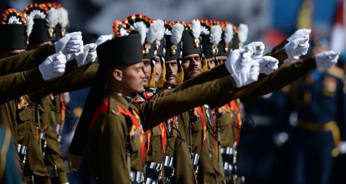 Tra i soldati stranieri sfileranno anche quelli indiani.