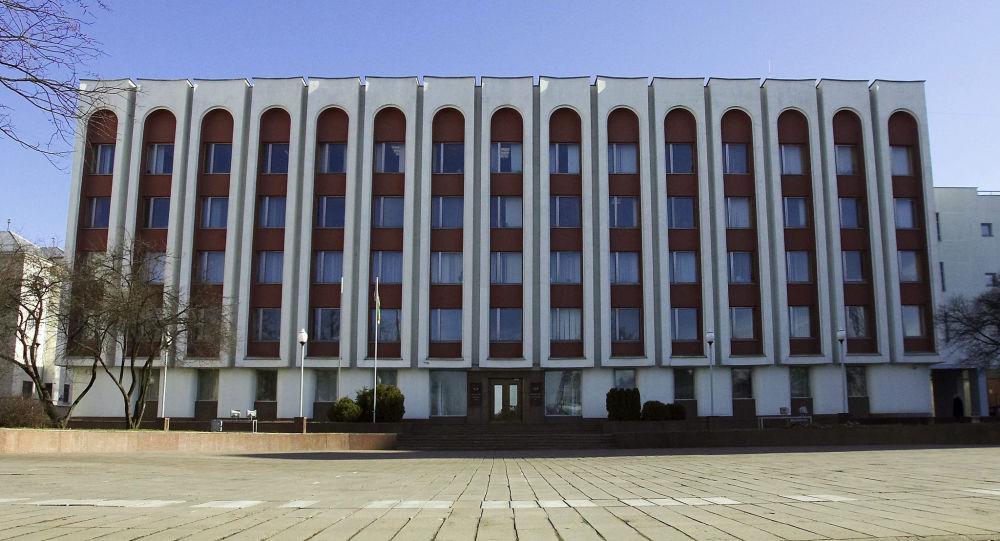 La sede del ministero degli Esteri della Bielorussia