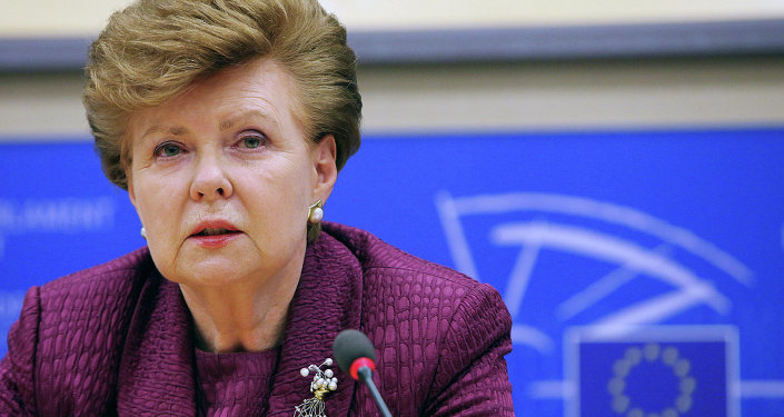 Vaira Vike-Freiberga, ex presidente lettone