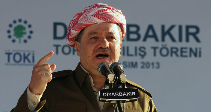 Masoud Barzani, il presidente del Kurdistan iracheno