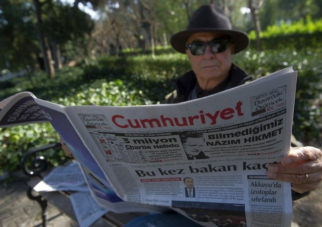 Il giornale turco d'opposizione Cumhuriyet
