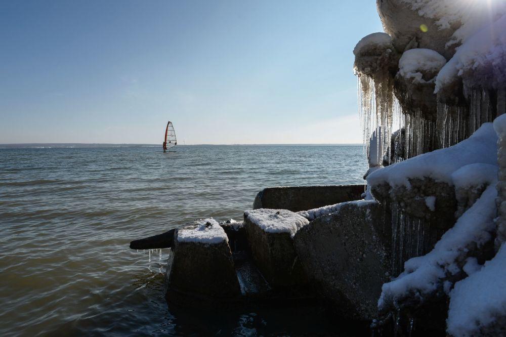 Windsurf a Novosibirsk