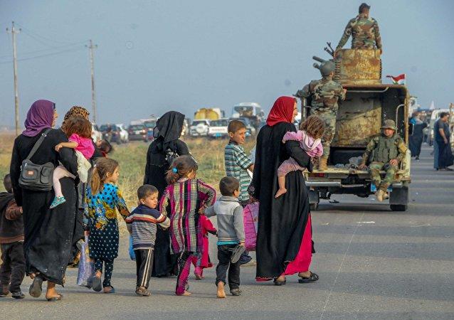 Civili a Mosul