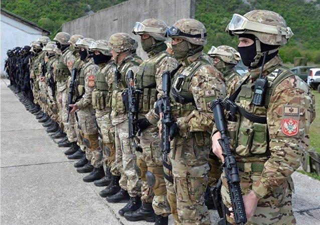 Forze speciali dell'esercito montenegrino