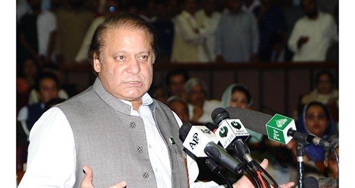 Il premier pakistano Nawaz Sharif.