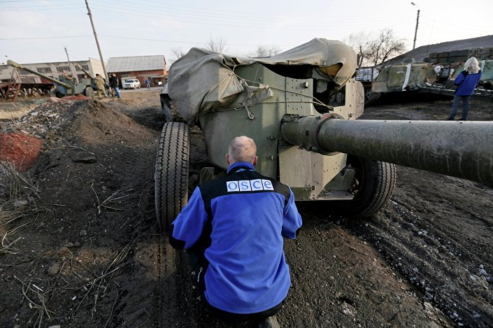 Ispettore OSCE nel Donbass