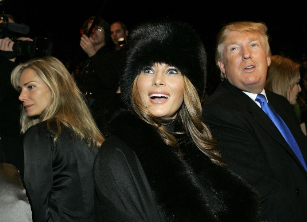 La nuova first Lady, Melania Trump
