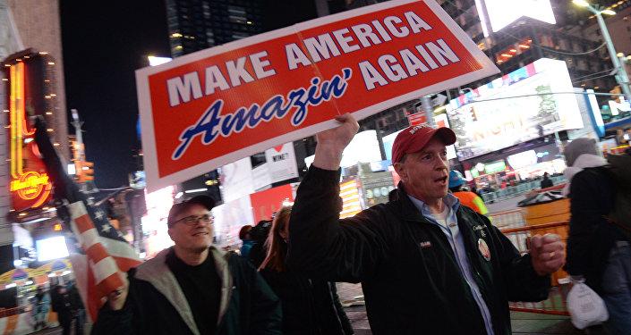 Sostenitori di Donald Trump