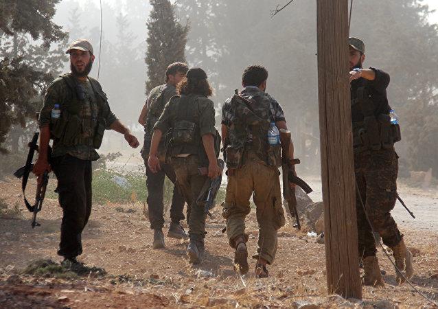 Combattenti islamisti in Siria
