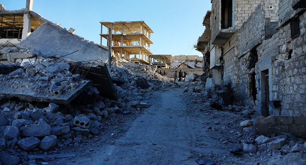 Aleppo distrutta dalla guerra