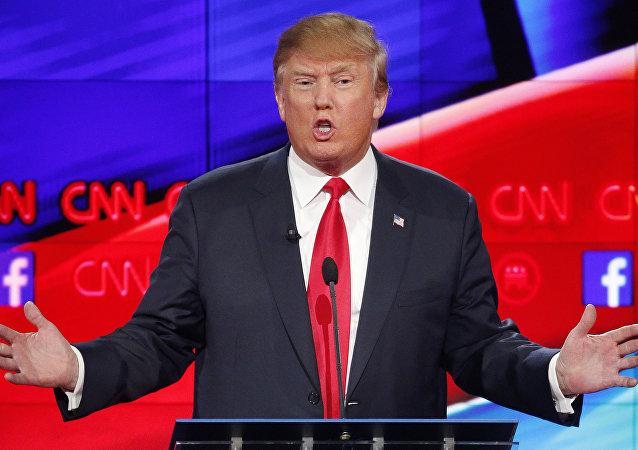 Donald Trump alla CNN