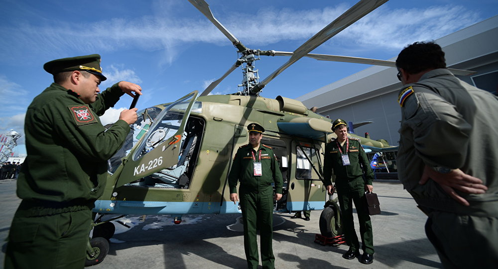 Elicottero Leggero : Iraniani fanno conoscenza con l elicottero russo