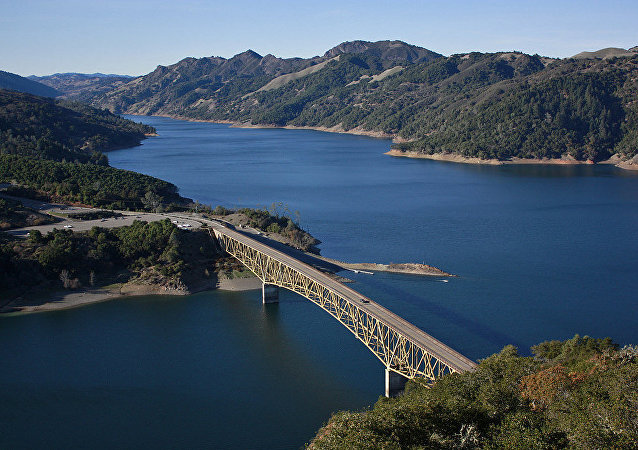 Lake Sonoma, California