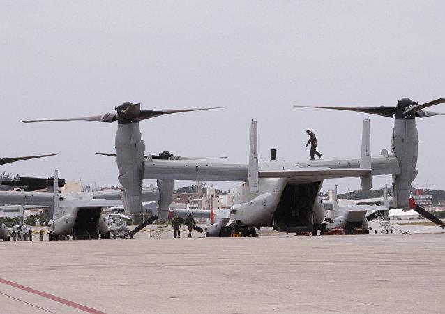 Marine Corps Air Station Futenma, Okinawa.