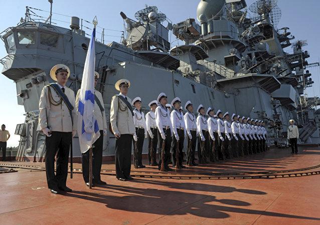 Presso base militare russa di Tartus, Siria