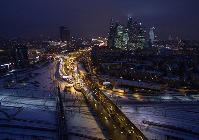 Mosca, la notte