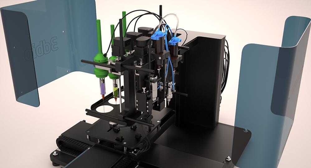 Bioprinter didentro