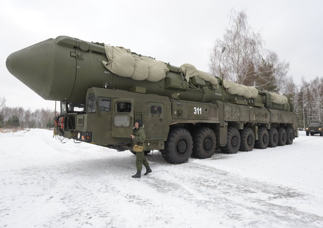 On December 26, 2014, a test launch of an RS-24 Yars solid fuel intercontinental ballistic missile with a detachable warhead was conducted from a ground base at the Plesetsk Space Complex.