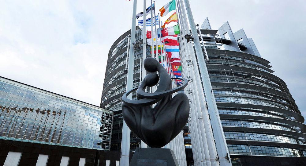 La sede dell'Europarlamento a Strasburgo