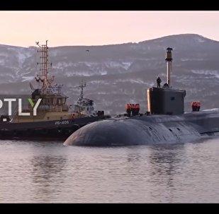 Sottomarino nucleare russo Aleksandr Nevskij