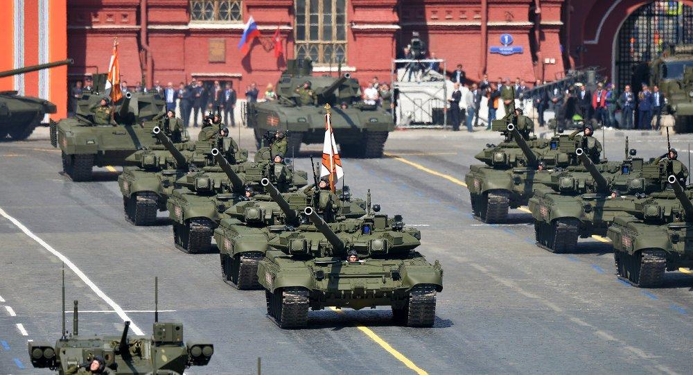 I carri armati T-90.