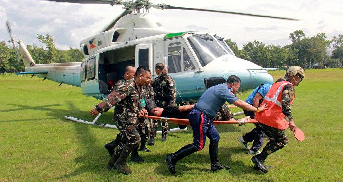 Uomo della scorta di Duterte ferito durante l'attentato esplosivo
