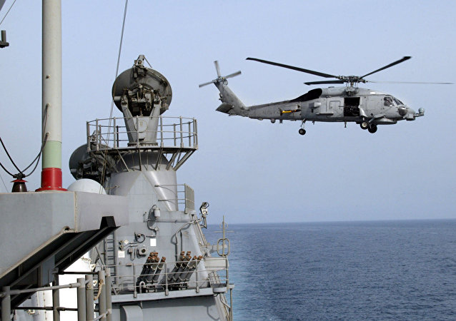 US SH-60 Seahawk Helicopter