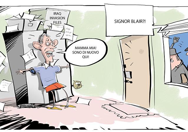 Indagine su Blair