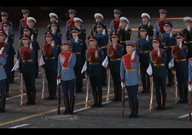 Guardia d'onore russa