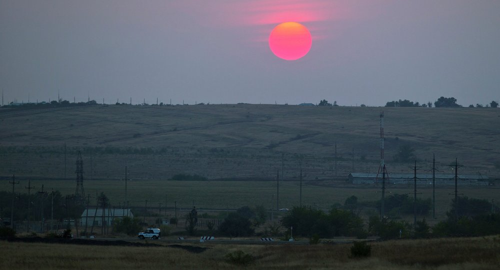 Confine russo-ucraino nella regione di Rostov