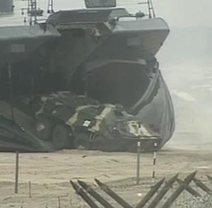 Lo sbarco della Flotta russa del Mar Nero