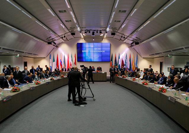 Summit dell'Opec a Vienna il 30 novembre 2016