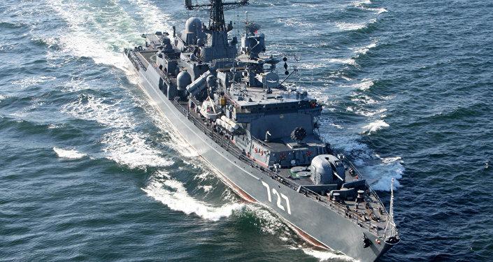 Nave della Marina Militare russa (foto d'archivio)