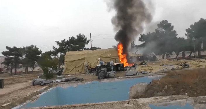 Ospedale russo sotto fuoco ad Aleppo