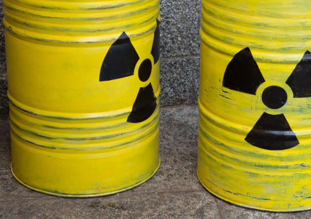 Scorie radioattive (foto d'archivio)