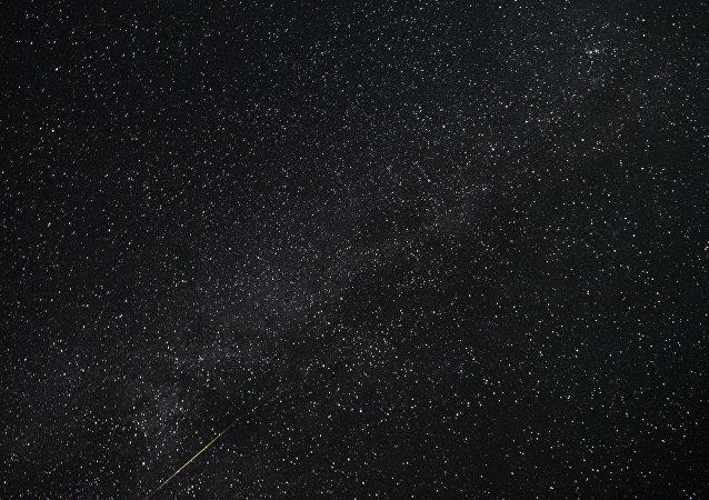 uno sciame meteorico Perseidi