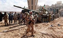 Militari dell'esercito della Libia