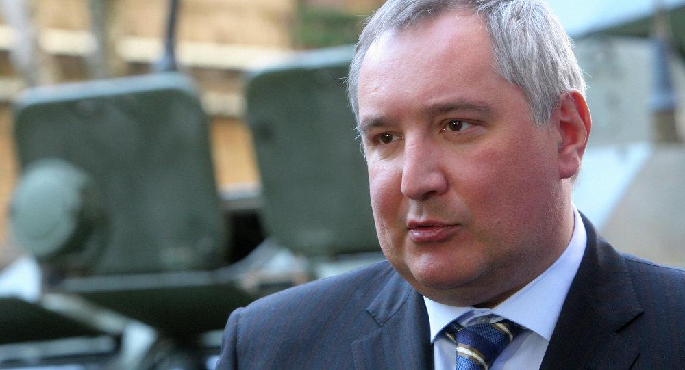 Vice premier russo Dmitry Rogozin