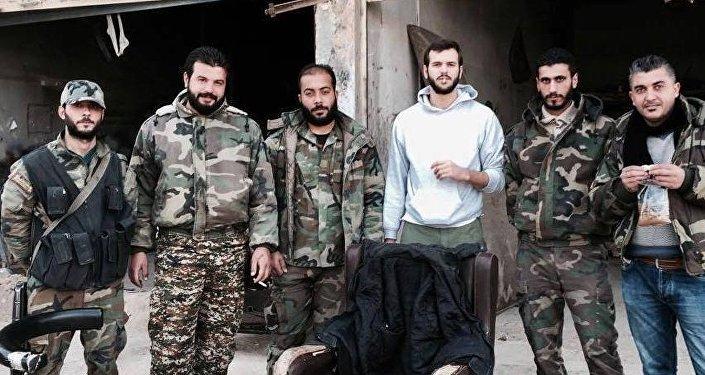 Sebastiano Caputo a Darayya