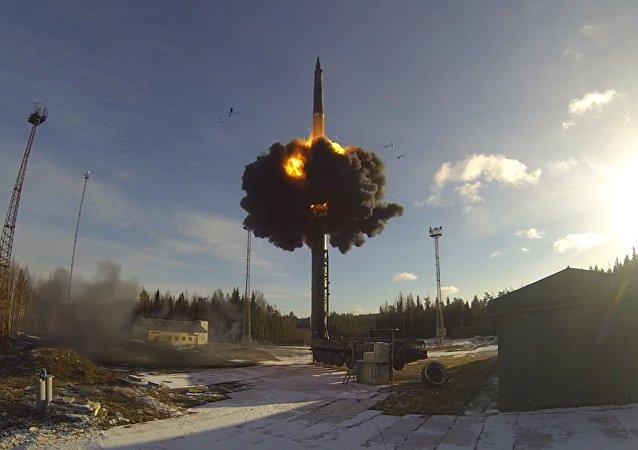 Le forze missilistiche strategiche russe